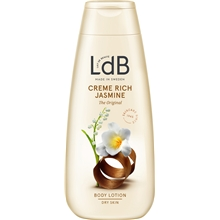 LdB Lotion Creme Rich, Jasmine & Shea - Very Dry