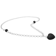 Jealousy Necklace - Black/Silver