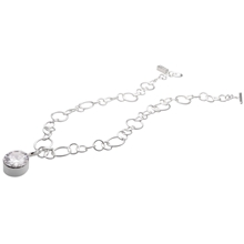 Mirella Necklace - Clear/Silver