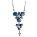 21142-6211 Bohemian Summer Necklace Silver Plated