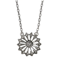 Just A Bloom Necklace  - Silver Plated