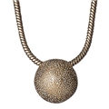 Classic Sphere Necklace Rose Gold Plated