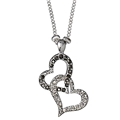 Classic Double Heart Necklace