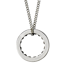 Affection Necklace Silver Plated