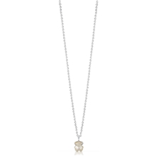 215434540 Silver TOUS Bear Necklace Pearl