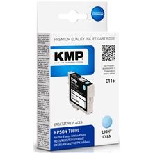 KMP E115 - Epson T0805 Light Cyan 1608.0043