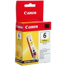 Canon Ink BCI-6Y Yellow 4708A002