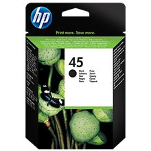 HP Ink No 45 Black