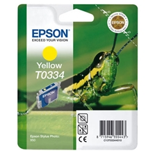 Epson Ink T0334 Yellow C13T03344010