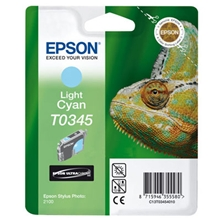 Epson Ink T0345 Light Cyan C13T03454010