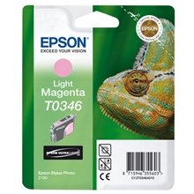 Epson Ink T0346 Light Magenta C13T03464010