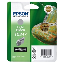 Epson Ink TO347 Light Black C13T03474010