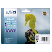 Epson Ink 6colours StylusPho R200 C13T04874010