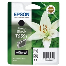 Epson Ink T0591 Photo Black C13T05914010