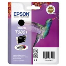Epson Ink TO801 Black C13T08014010