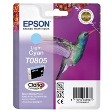 Epson Ink T0805 Light Cyan C13T08054010