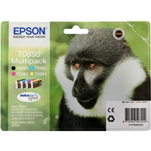 Epson T0895 ink 4pack CMY for Stylus S20 C13T08954010