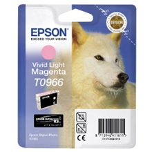 Epson T0966 VIVID LIGHT MAGENTA CARTRIDG C13T09664010