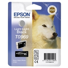 Epson T0969 LIGHT LIGHT BLACK CARTRIDGE C13T09694010