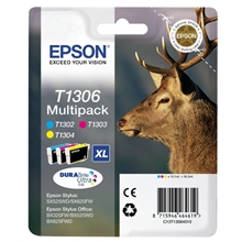 Epson Ink T1306 Multi Pack Ink Cartridge C13T13064010
