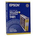 Epson Ink T481 Yellow C13T481011