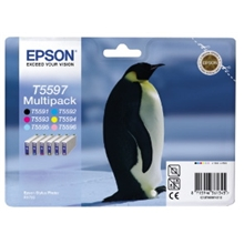 Epson T5597 6-p B/C/M/Y/LC/LM C13T55974010