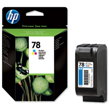 HP Ink No 78 Tri-Colour (38ml)