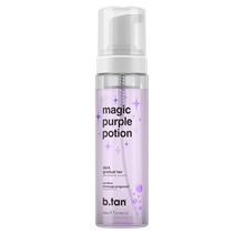 200 ml - b.tan Magic Purple Potion Gradual Dark