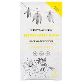 Before Party Glow Face Mask Powder - Hydrating