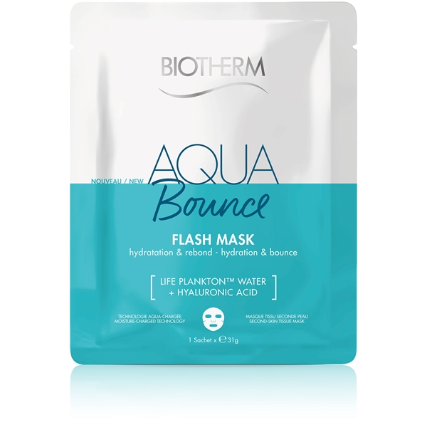 Aqua Bounce Flash Mask - Hydration & Bounce (Picture 1 of 2)