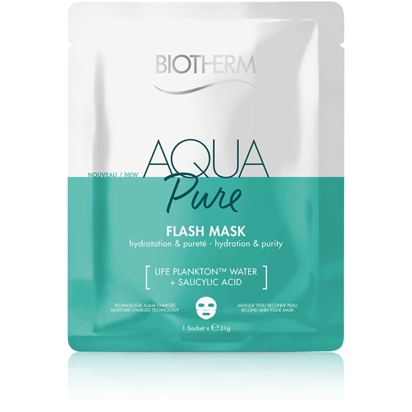 Aqua Pure Flash Mask - Hydration & Purity (Picture 1 of 2)