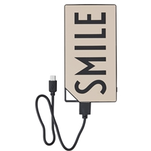 Design Letters Powerbank Nude