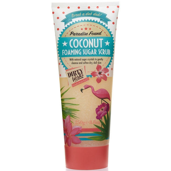 Paradise Found! Coconut Foaming Sugar Scrub