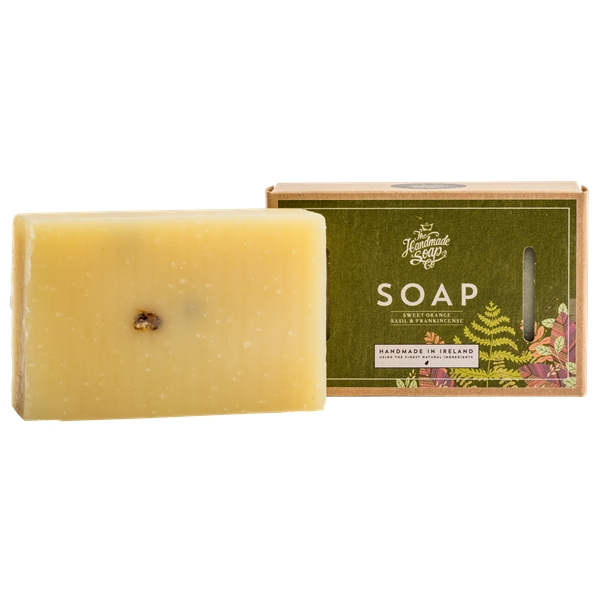 Soap Sweet Orange, Basil & Frankinsence (Picture 1 of 3)