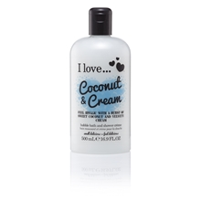 500 ml - Coconut & Cream Bath & Shower Crème