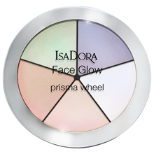 18 gram - No. 050 Rainbow Highlights - Isadora Face Glow Prisma Wheel