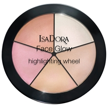 IsaDora Face Glow Highlighting Wheel