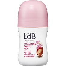 60 ml - LdB Roll On Vitalizing, Sweet Pea & Silk
