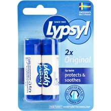 2 each - Lypsyl Original
