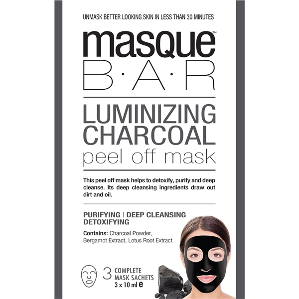Luminizing Charcoal Peel Off Mask
