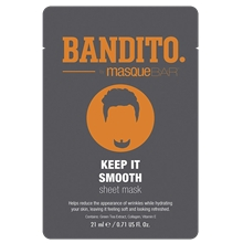 BANDITO Keep It Smooth - Sheet Mask
