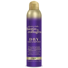 165 ml - Ogx Biotin & Collagen Spray Dry Shampoo