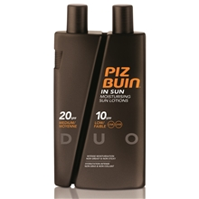 300 ml - Piz Buin In Sun Sun Lotions Spf 10/20 Duo