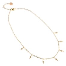 84040-07 BLUSH Lightning Necklace