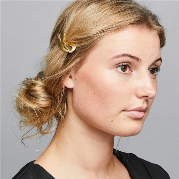 Basilia Hair Clip Gold (Picture 2 of 2)