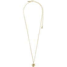 67211-2001 Sophia Heart Gold Plated Necklace