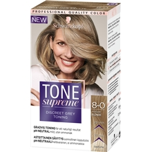 1 set - 8.0 Medium Blonde - Tone Supreme