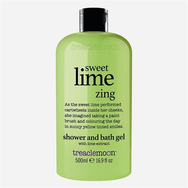 Sweet Lime Zing Bath & Shower Gel (Picture 1 of 2)