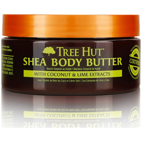 Tree Hut Shea Body Butter Coconut Lime (Picture 1 of 2)