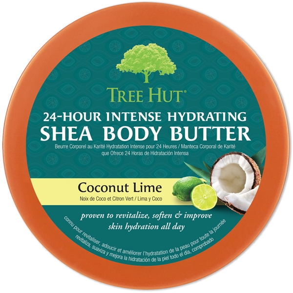 Tree Hut Shea Body Butter Coconut Lime (Picture 2 of 2)
